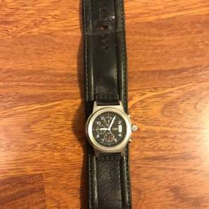 Watch Wide Leather Band