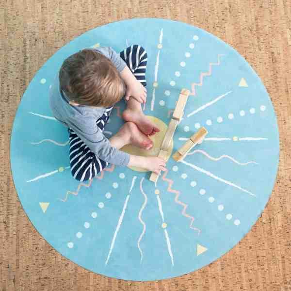 Kids Yoga and mindfulness mat