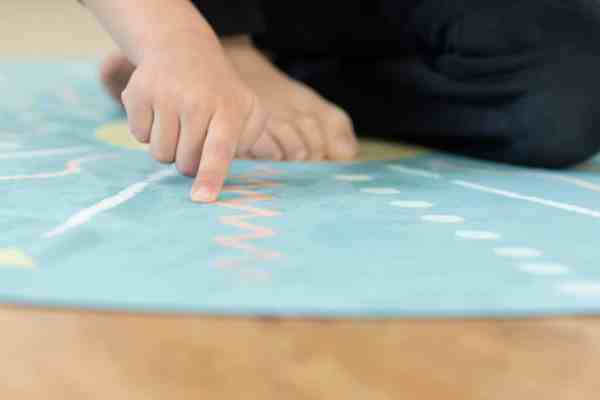kids meditation mat