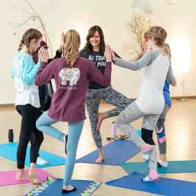 teen yoga Traverse City/Just Bee Yoga + Well-being