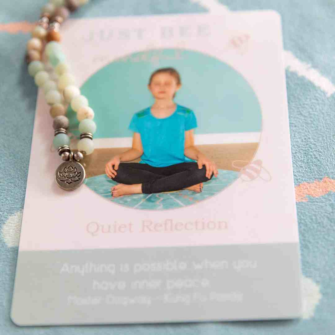 Just Bee Mindful Cards/Just Bee Yoga + Well-being