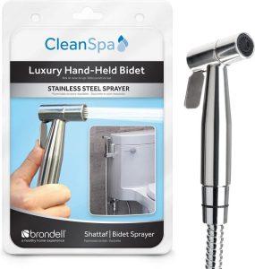 Brondell CSL-40 CleanSpa Luxury Handheld Bidet Shattaf Sprayer