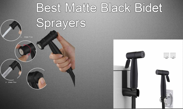 Best Matte Black Bidet Sprayers