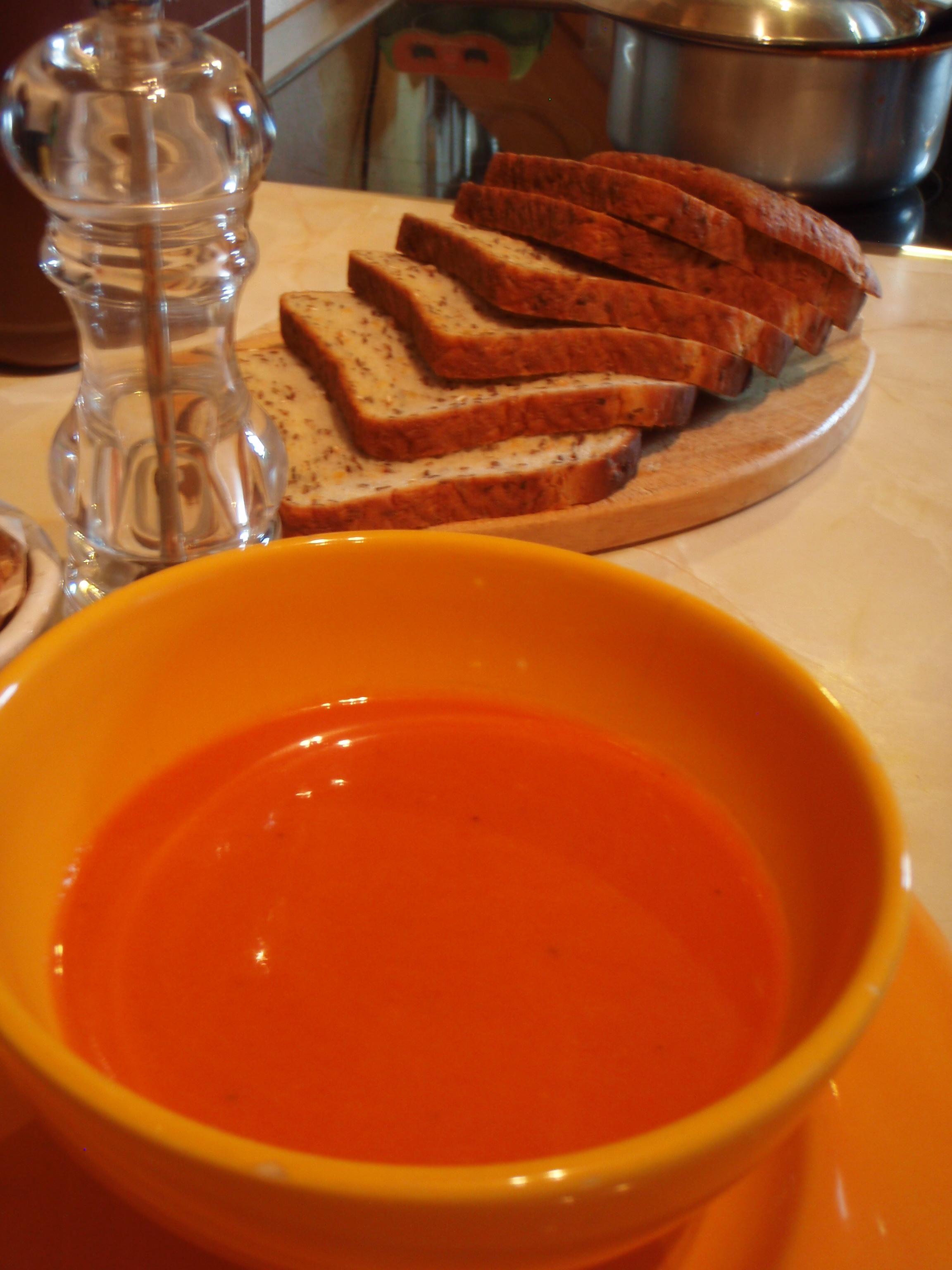 Two Types Of Vegan Tomato Soup
