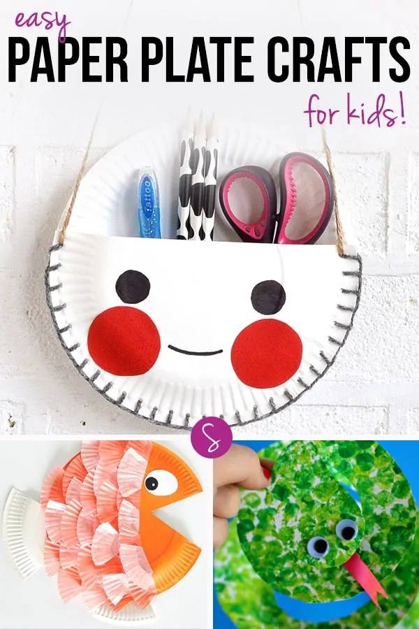 Easy Paper Plate Crafts For Kids Of All Ages To Enjoy