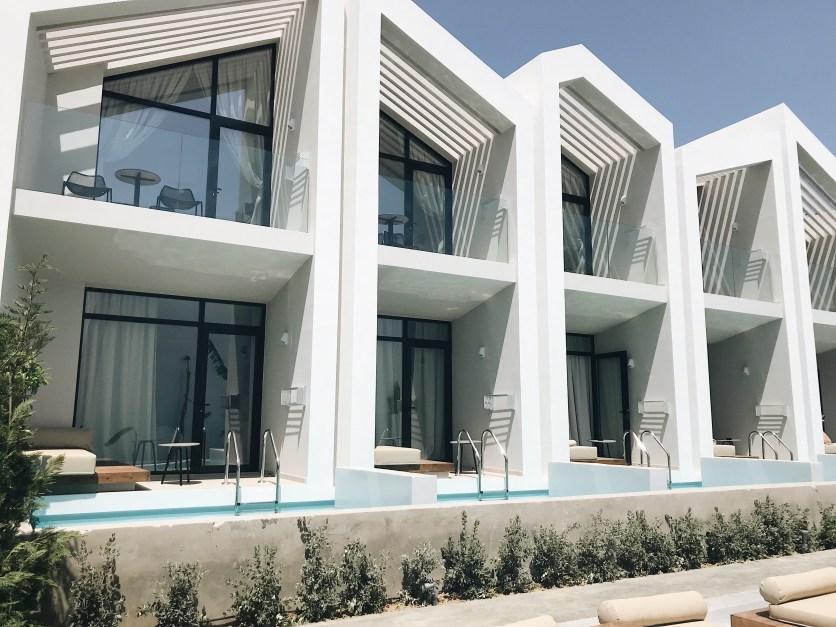 Kamers met privé zwembad