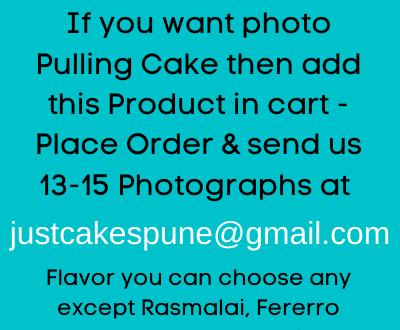 Photo Pulling Cake