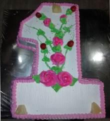 1 Shaped Cake