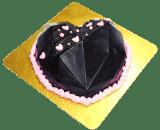 Heart Diamond Pinata Cake in Pune