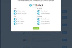 JustCall Slack Integration
