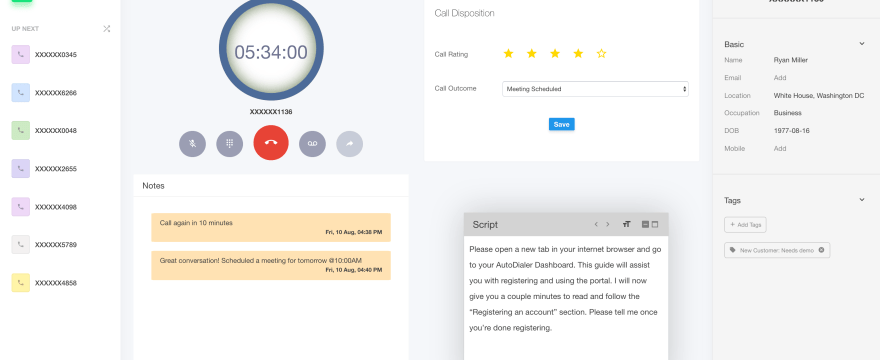 [New Feature] Auto Dialer For Sales Teams