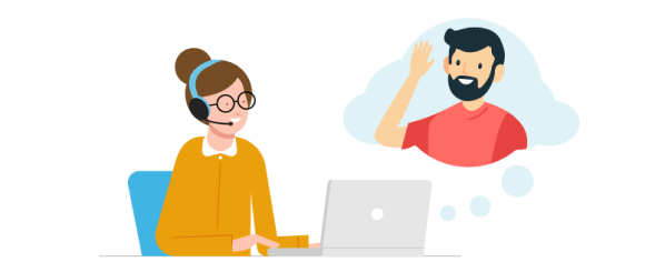 remote customer service- communicate easily with customers