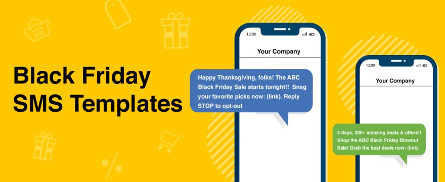 12 Text Message Template Samples for Black Friday Promotions