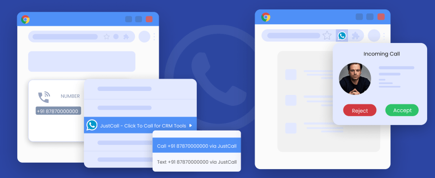 JustCall-Click-to-all-Chrome-Extension