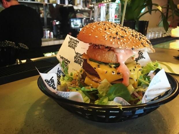 Vegan Junk Food Bar Amsterdam Burger