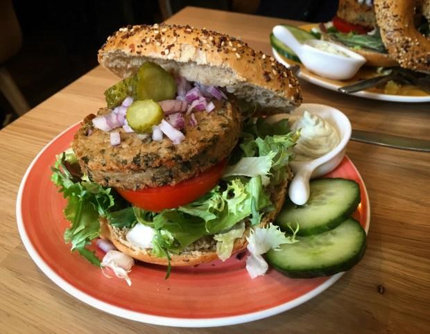 Dutch Weed Burger Bagel Amsterdam