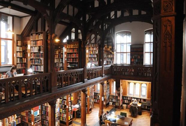 gladstones library tom hoebbel photo