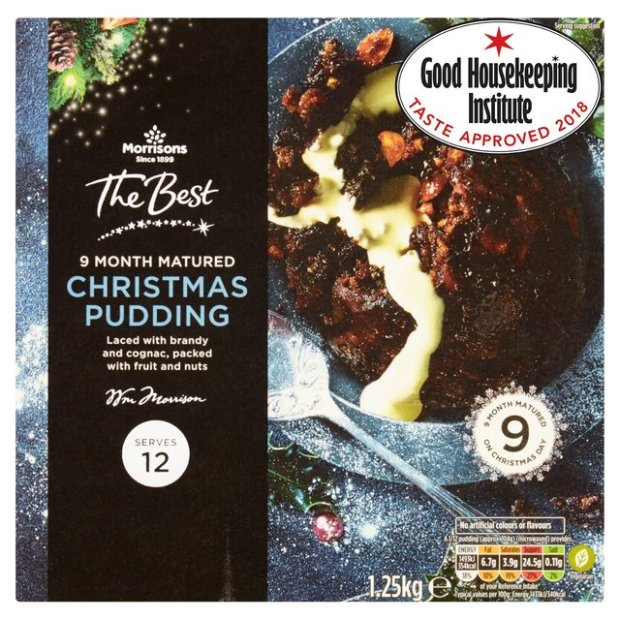 Morrisons Vegan Christmas Pudding