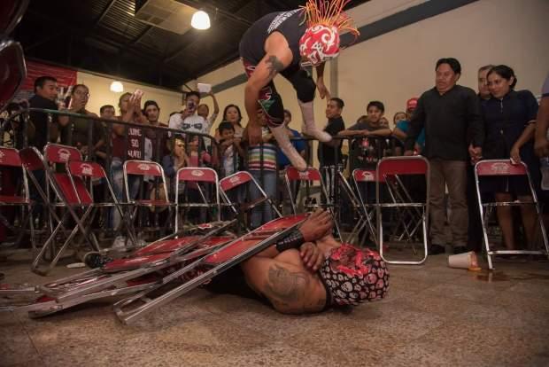 luchadors oaxaca city
