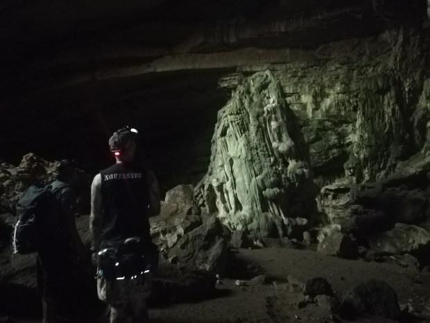 southern sierra cave interior oaxaca mexico zapotrek