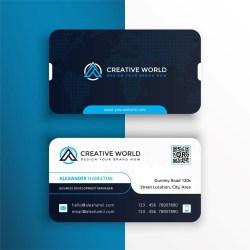 Business cards Round Corner