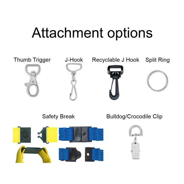 Lanyard attachment options