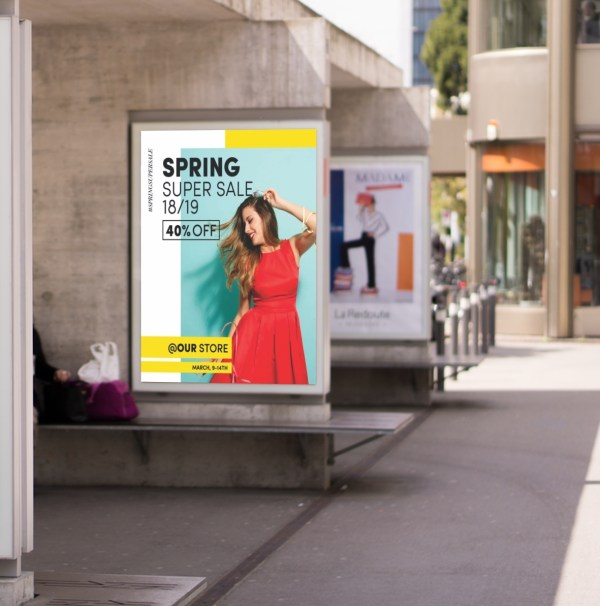 Outdoor Posters A0, A1, A2 & A3