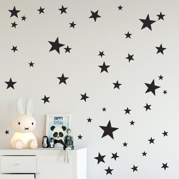 Stars wall art