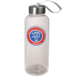 Quench water bottle transparent