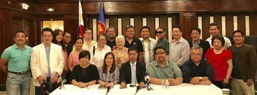 ConGen Claro Cristobal: We will be an inclusive Filipino community