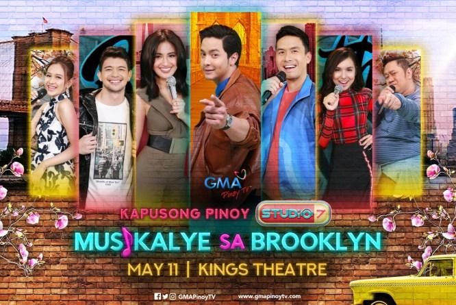 GMA Pinoy TV Presents 'Kapusong Pinoy Studio 7 Musikalye sa Brooklyn'