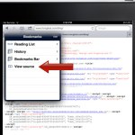 手机查看网页代码 How to View Website Source Codes on iPad / iPhone