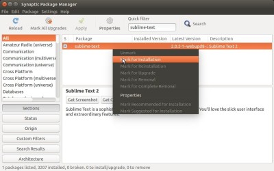 Ubuntu: 安装 Sublime Text 2 或者 3 How to Install Sublime Text 2 or 3 in Ubuntu 15.04/16.04
