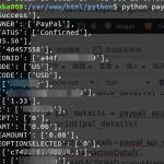 python: 获得PayPal Transaction信息,payment 信息(GetTransactionDetails API), python paypal nvp