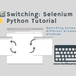 Python: Selenium多窗口之前的切换, webdriver窗口切换