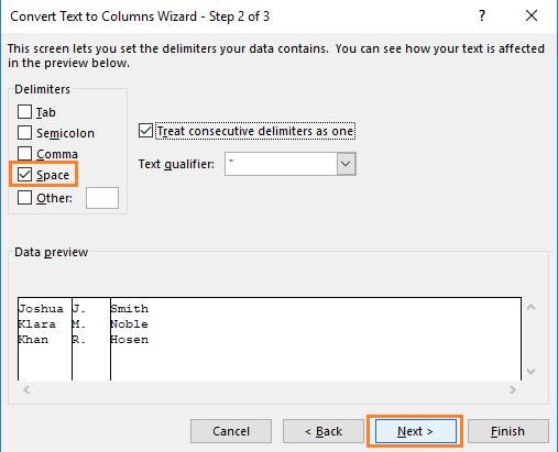 如何在Excel中用逗号切换姓氏和名字(5种简便方法), Excel字符串交换, How to switch first and last name in Excel with comma (5 Easy Ways)