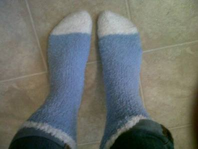 Preparing for fuzzy sock and boot season at home