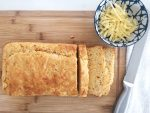 Cheese and Sweetcorn bread baked