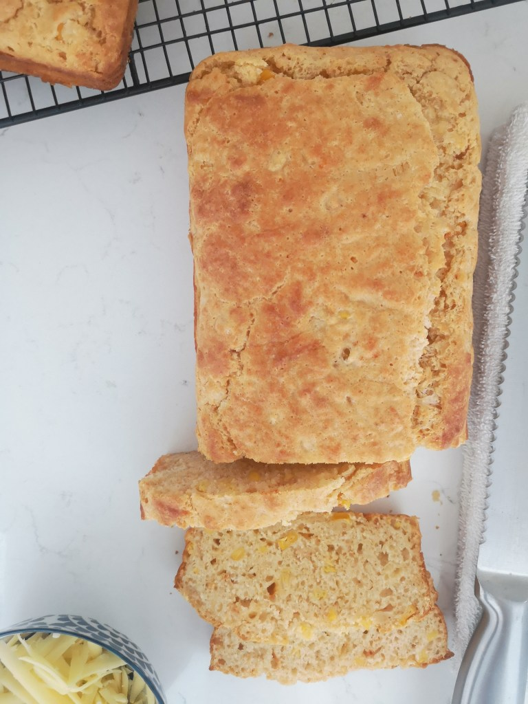 Cheese and Sweetcorn Bread