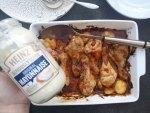 Baked mayonnaise and chutney chicken recipe