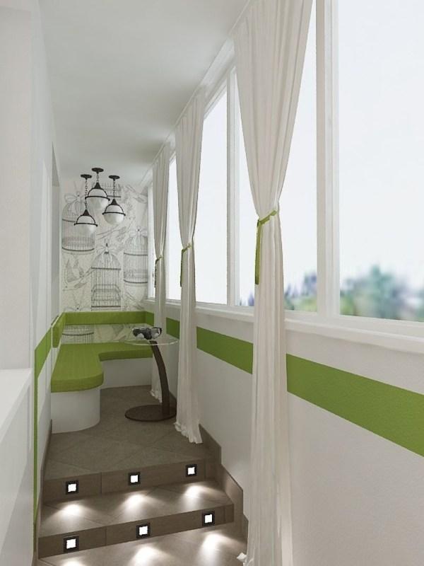 Как обустроить балкон чтобы все гости завидовали вам