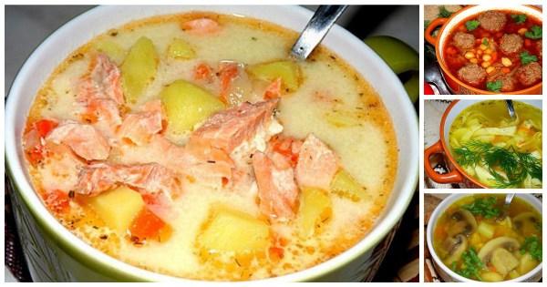 Рецепты 10 самых вкусных супов | Хитрости жизни