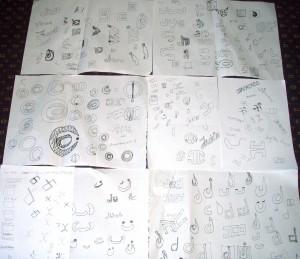 Creative sketches Design