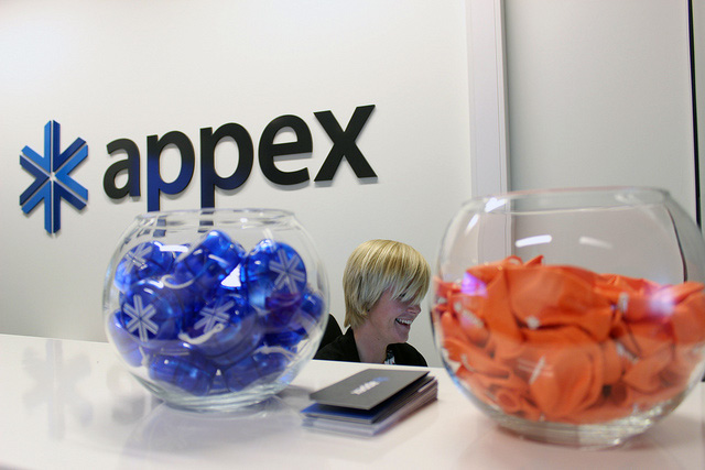 Appex Front Desk with Yo-Yos and Balloons