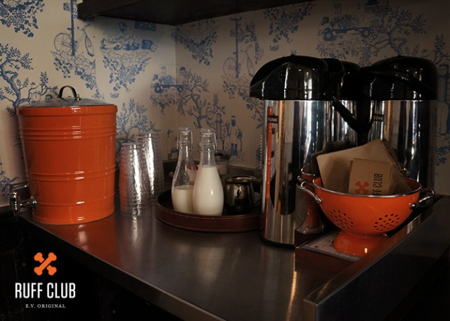 Ruff Club Coffee Corner