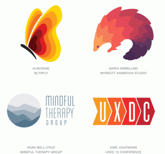 Ombre Logo Trend