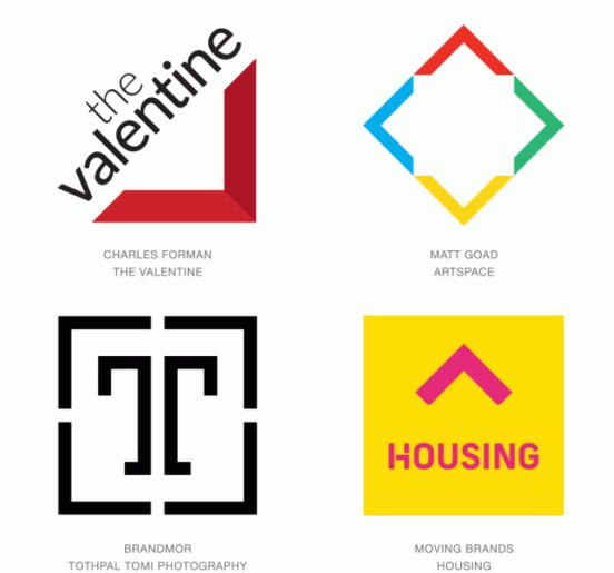 Corners Logo Trend