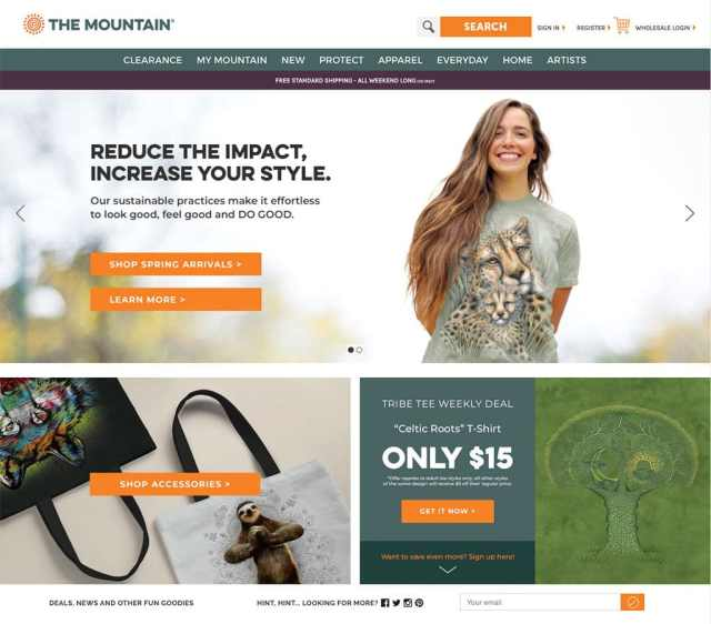 Mountain Website