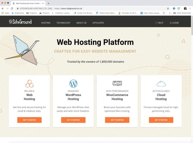best website hosting platform