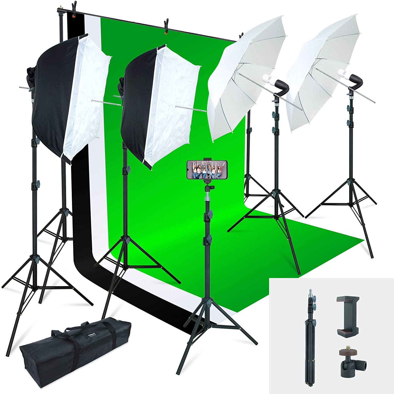 best photography lighting kits studio